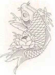 koi fish drawing color koi fish drawing future coloring