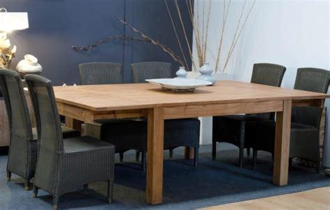 Superbe Table De Cuisine La Redoute #2: table-de-repas-12-personnes-carree-en-teck-140x140-2-rallonges-integrees-ig-264.jpg
