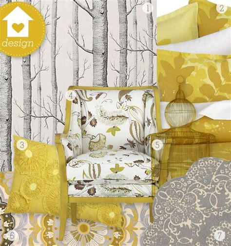 yellow and grey home decor gray and yellow room decor