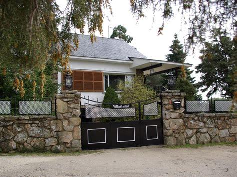 casa rual completa de  plazas max en la sierra de madrid sierra norte
