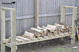 homeroad diy log holder
