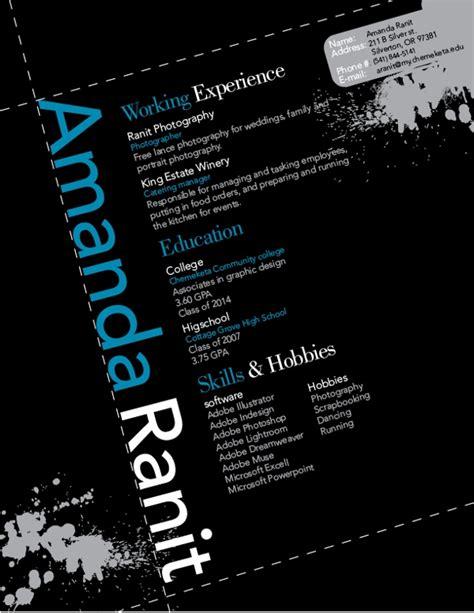 design cv background graphic design resume i designed resume help pinterest