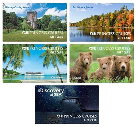 Princess Cruise Gift Card - new princess cruises gift cards can now be purchased