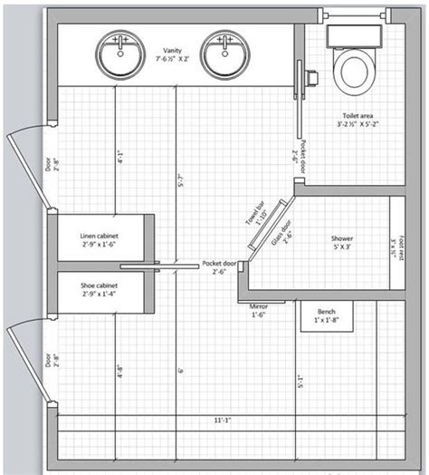 bathroom floor plans with closets 24 best master bedroom floor plans with ensuite images