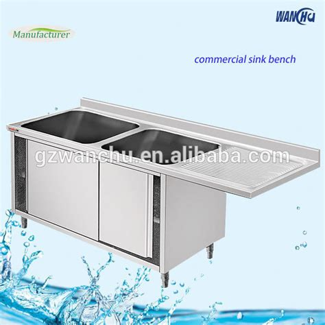 stainless steel sink base cabinet commercial stainless steel kitchen sink cupboard with 2
