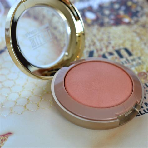 Baked Blush Luminoso review milani baked blush luminoso lafemmefem
