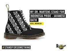 Sepatu Dr Martens desain sepatu batik madura design shoes dr martens
