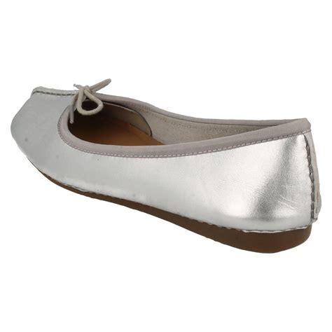 flat shoes ballerina style clarks comfort everyday leather ballerina style