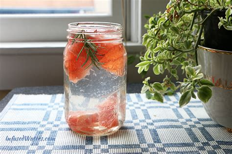 Grapefruit And Rosemary Detox by Grapefruit Rosemary Infused Water Infused Waters