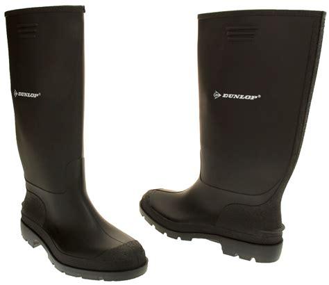 garden boots mens dunlop waterproof wellington boots garden boot