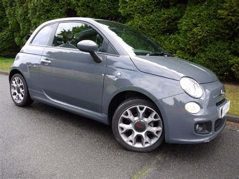 fiat 500 for sale 3000 used tech house grey metallic fiat 500 for sale surrey