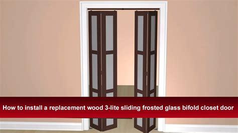 how to install closet door how to install renin s 3 lite bypass sliding closet door