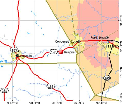 kempner texas map kempner texas tx 76539 profile population maps real estate averages homes statistics