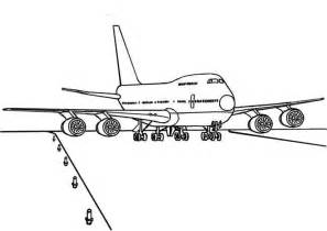 plane coloring book boeing airplane printable coloring page ecoloringpage