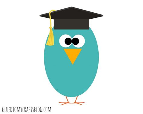 printable graduation owl graduation handprint owl w free printable glued to my crafts
