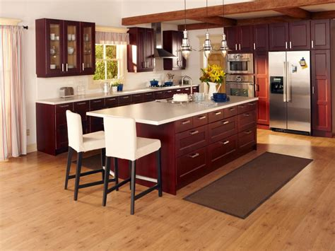 ikea wood kitchen cabinets smart budget hgtv