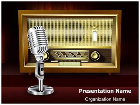 template powerpoint radio powerpoint templates free radio images powerpoint