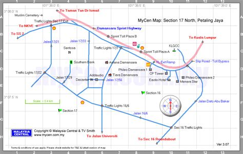 What Is Section 17 by Malaysia Central Mycen Maps Map Of Section 17