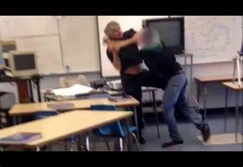 santa high school fight student brawl in