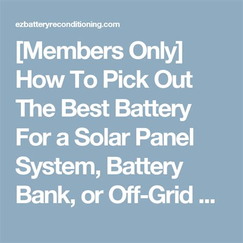 members    pick    battery