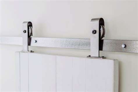 Classic Industrial Top Mount Sliding Barn Door Hardware Top Mount Sliding Barn Door Hardware