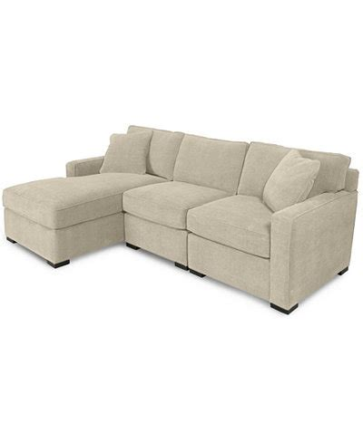 radley 5 piece fabric chaise sectional sofa radley 3 piece fabric chaise sectional sofa created for