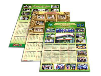 desain kalender pribadi desain kalender 1 lembar gubug gallery