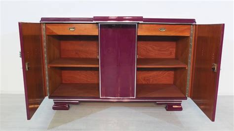 colorful deco buffet in a unique lilac color for sale at 1stdibs