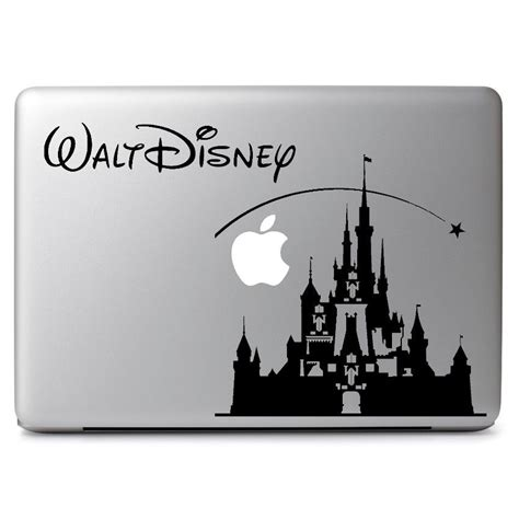 Decal Stickers For Macbook Air 11 disney castle decal sticker skin for apple macbook air