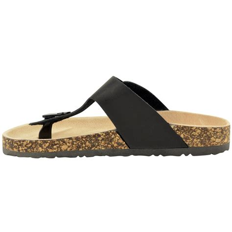 flat sandals for summer womens leather flat summer comfort cushion cork