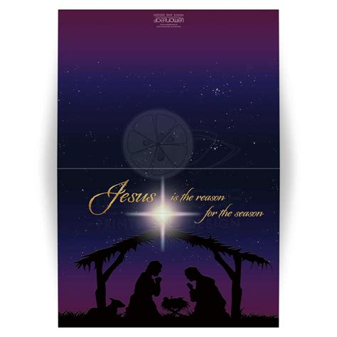 jesus card templates personalized 5x7 holy nativity card