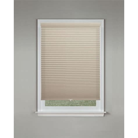 Cordless Cellular Blinds Bali Cut To Size Sandstone 9 16 In Cordless Blackout