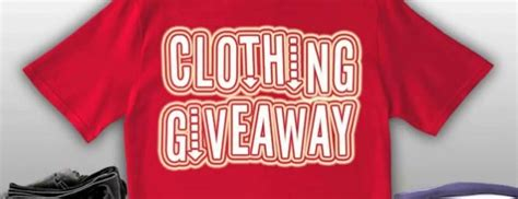 Clothing Contest Giveaways - seacoast to hold free clothing giveaway