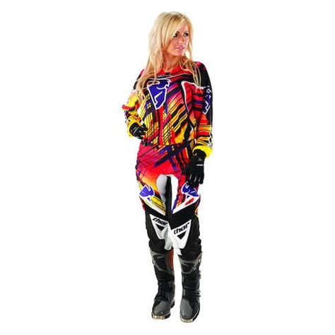 womens thor motocross gear thor phase stix s jersey revzilla