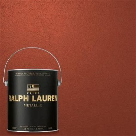 ralph 1 gal persimmon gold metallic specialty finish interior paint me142 at the home