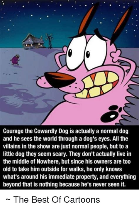 Courage The Cowardly Dog Meme - funny courage the cowardly dog memes of 2017 on sizzle