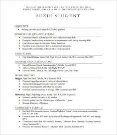College Resume Example Example High School Resume Best Resume Sample