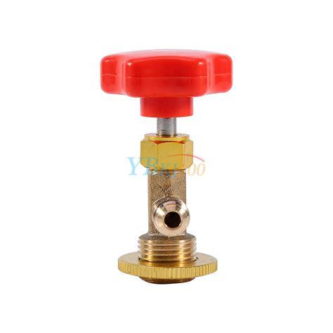 Valve C I Jis10k 2 new r134a auto air conditioning refrigerant can tap valve