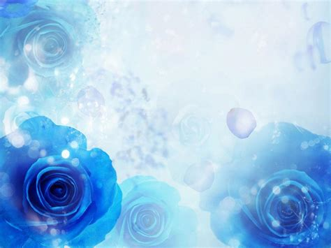Blue Roses Wallpapers Wallpaper Cave Blue Flower Powerpoint Backgrounds Hd Free Wallpaper