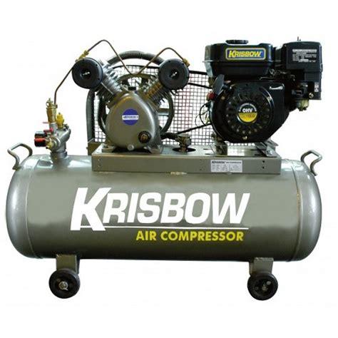 Kompresor Angin 2 Hp jual krisbow gasoline compressor 2hp kw1300350 murah