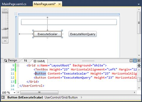 update layout silverlight c how to have silverlight get its data from mysql