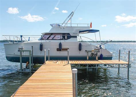 boat and dock boat lifts rcg boat lifts dock doctors ultimate boat lift