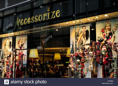 accessories store accessorize clothes and accessories shop store stock photo royalty