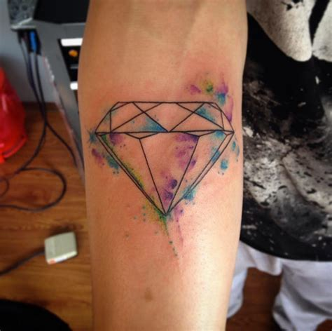 watercolor tattoo diamond 21 expertly executed tattoos tattooblend