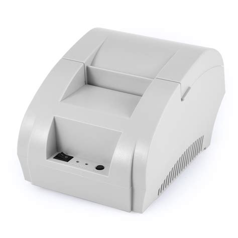 Taffware Pos Thermal Printer 57 5mm Zj 5890k Murah zj 5890k mini 58mm pos receipt thermal printer with usb port 11street malaysia printers