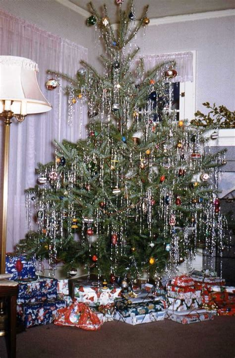a vintage 1950 s christmas tree i love trees dripping