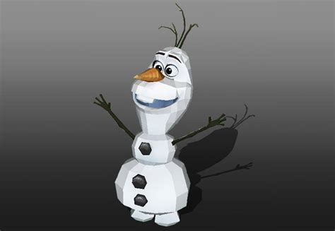 Papercraft Snowman - papercraftsquare new paper craft disney frozen