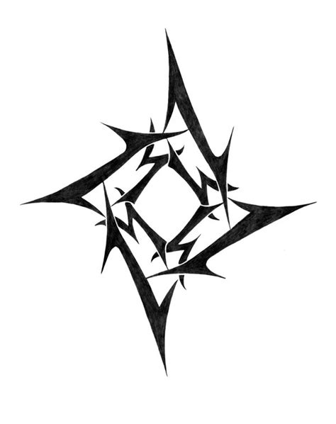 ninja star tattoo designs metallica by wicho6000 on deviantart