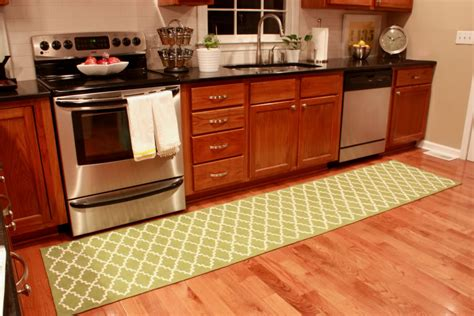 White Kitchen Rugs Modern Olive White Kitchen Runner Rug All About Rugs