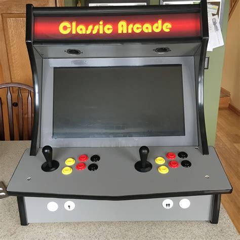 how wide is a bar top 2 player bartop arcade cabinet plans memsaheb net